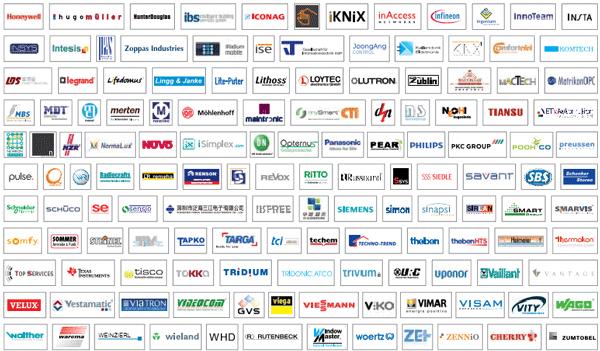 Empresas fabricantes que trabajan con la tecnología KNX